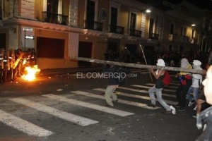 Quito: much more violent than Cuenca
